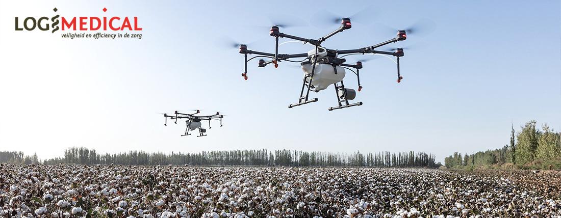 Vervoeren van bloed en medicatie via drones in nieuw pilot Erasmus en Sanquin